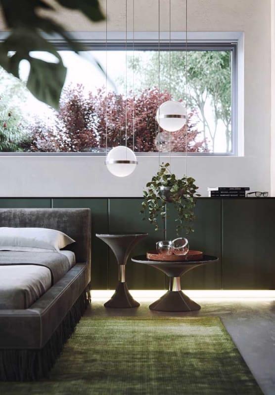 verde musgo na sala