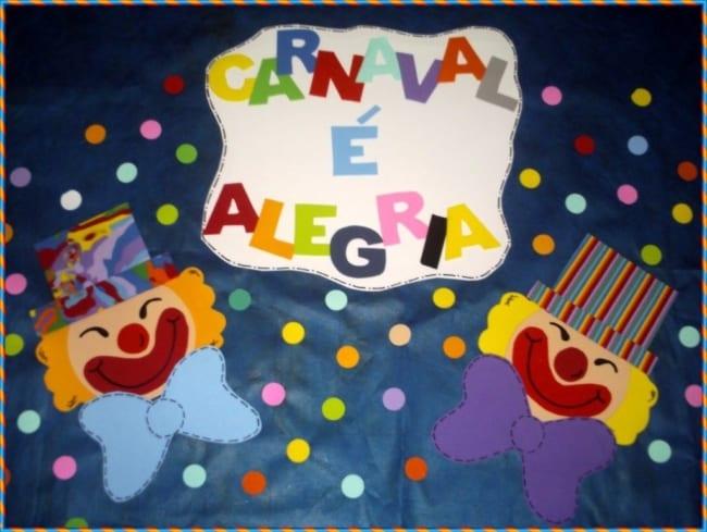decoração feita em EVA para educação infantil