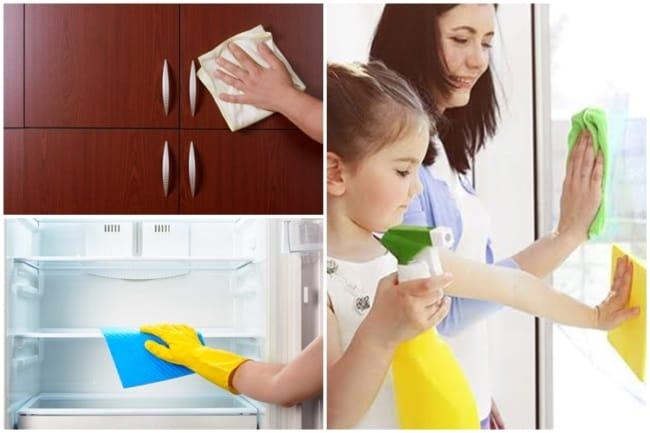dicas de limpeza diária da casa
