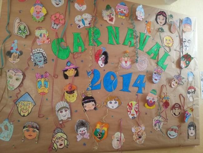 ideia criativa para enfeitar escola para o carnaval