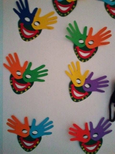decoração criativa para escola
