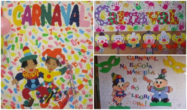 decoração de painel para escola