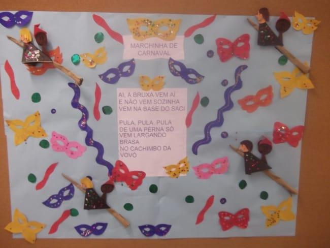 decoração de carnaval em escola infantil