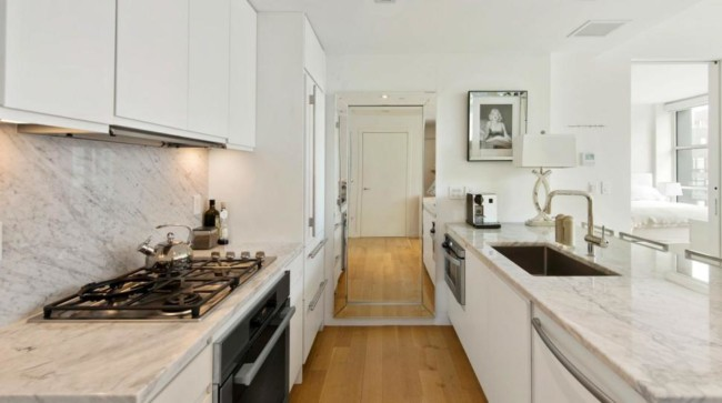 cozinha com mármore carrara