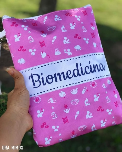 porta jaleco de biomedicina
