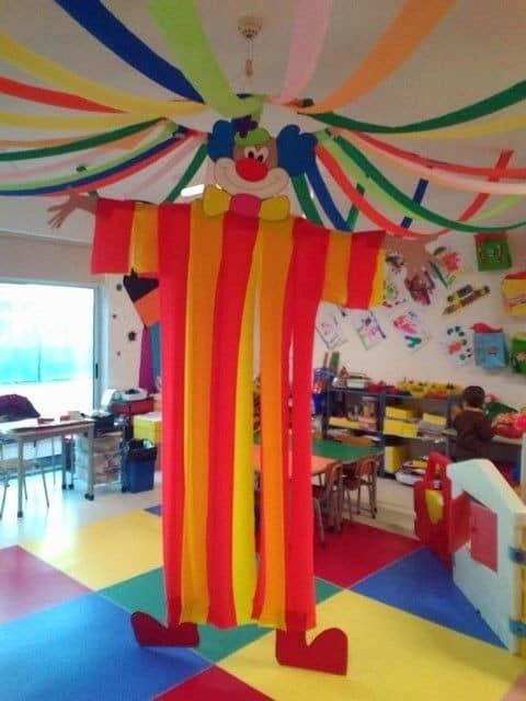 decoração de carnaval em sala de aula