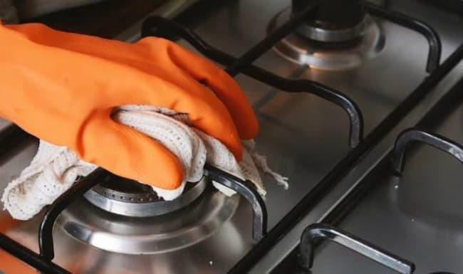 limpeza do fogão