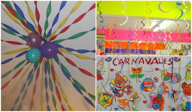 decoração de carnaval simples para escola