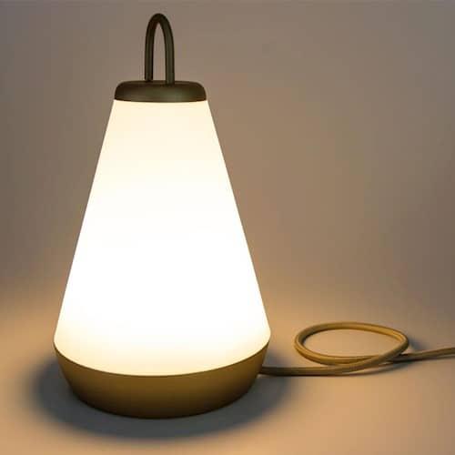 Luminária para mesa moderna