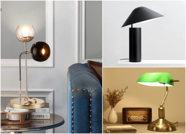Modelos de luminárias de mesa 2