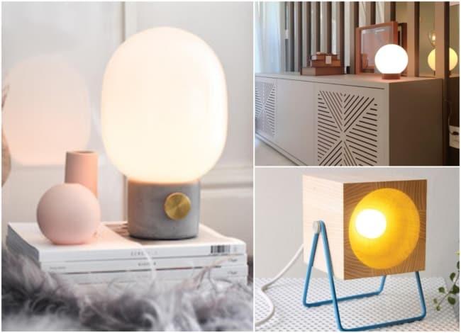 Modelos de luminárias de mesa 4