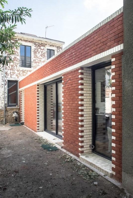 casa com tijolo ecológico