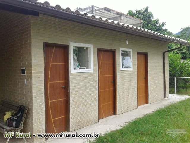 casa pre fabricada de tijolo ecológico