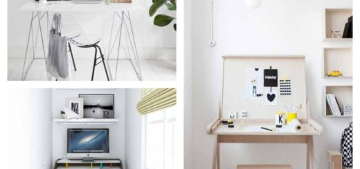 decoração com modelos de escrivaninha
