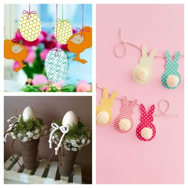 decoração temática para Páscoa