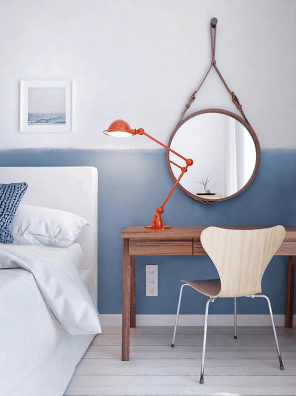 espelho adnet em quarto de solteiro
