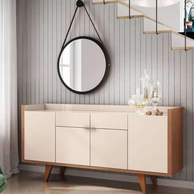 espelho adnet em sala de estar