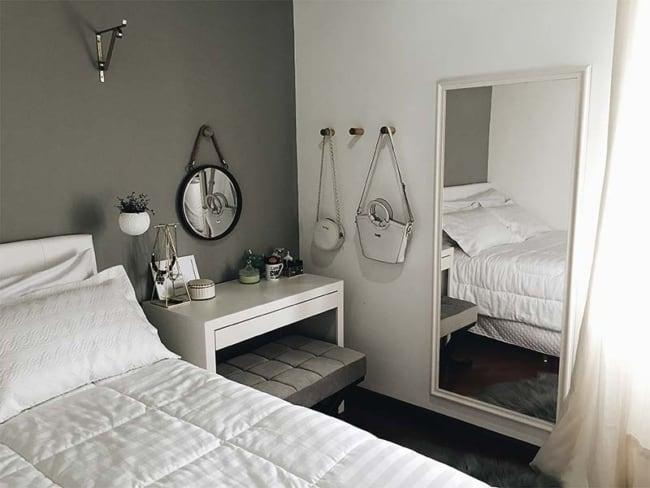 espelho adnet no quarto de casal