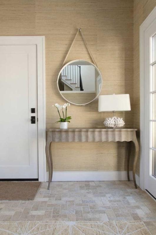 espelho adnet redondo na sala