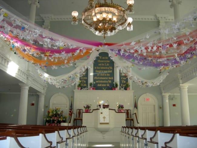 igreja na páscoa