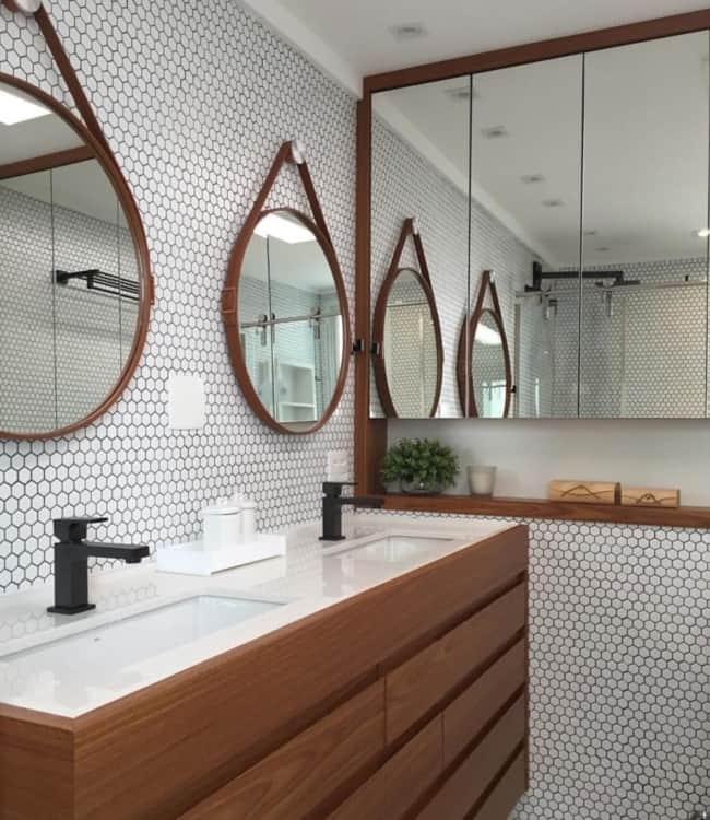 lavabo com espelho adnet
