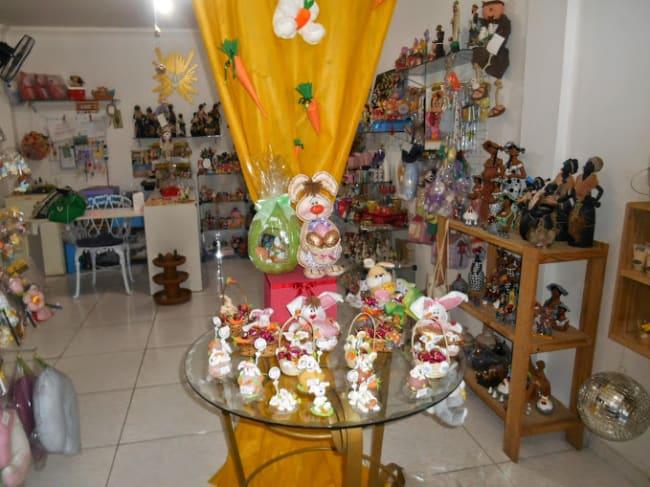 loja decorada para Páscoa