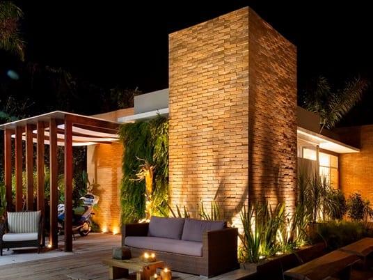 tijolo ecológico em fachadas