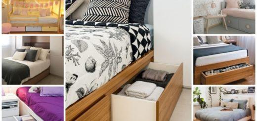 camas com gaveta