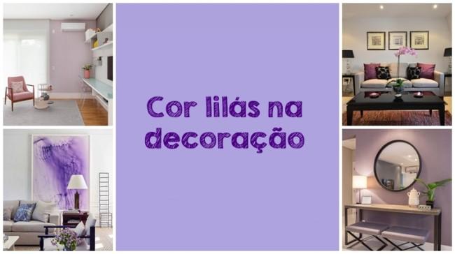 como usar lilás na decoração