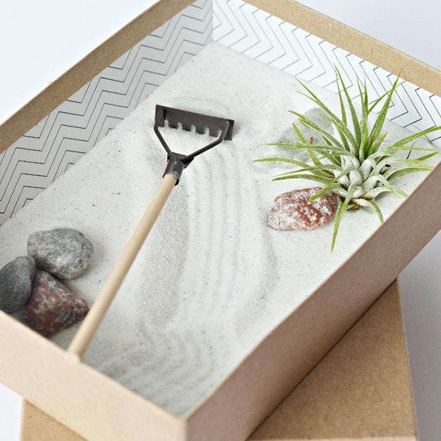 modelo de jardim zen barato para fazer em casa