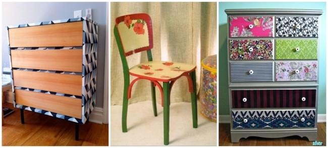 ideias de bricolagem para móveis