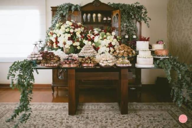 decoração de festa de casamento em casa