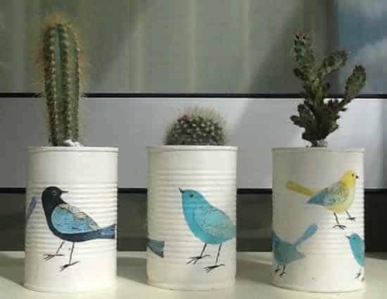 ideia de vasos decorativos simples