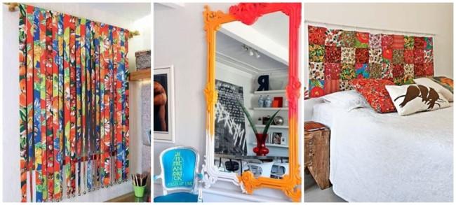 ideias criativas e coloridas para bricolagem