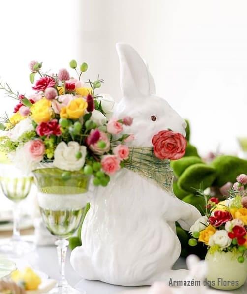 decoração de mesa para páscoa