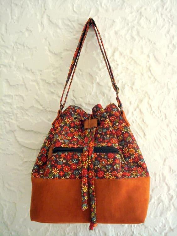 bolsa saco de tecido