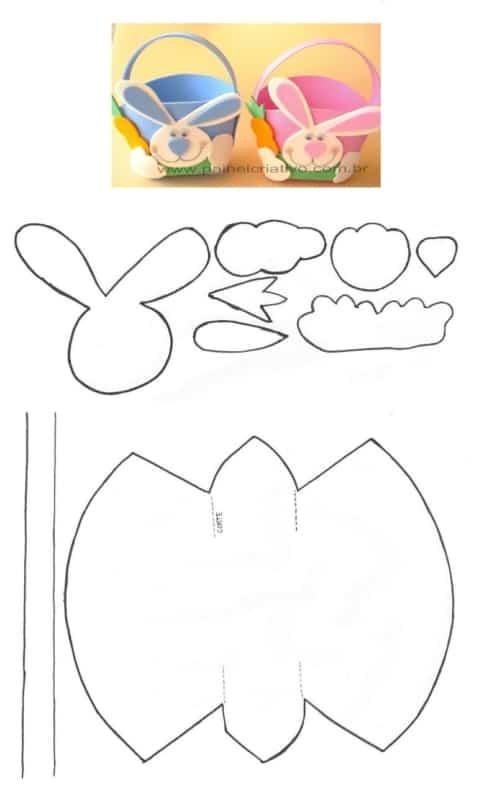 Como fazer cesta de EVA passo a passo
