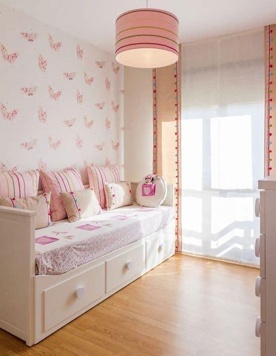 cama infantil branca com gavetas