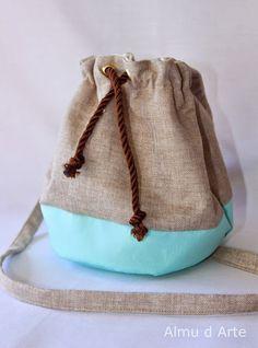 ideia para fazer bolsa saco simples