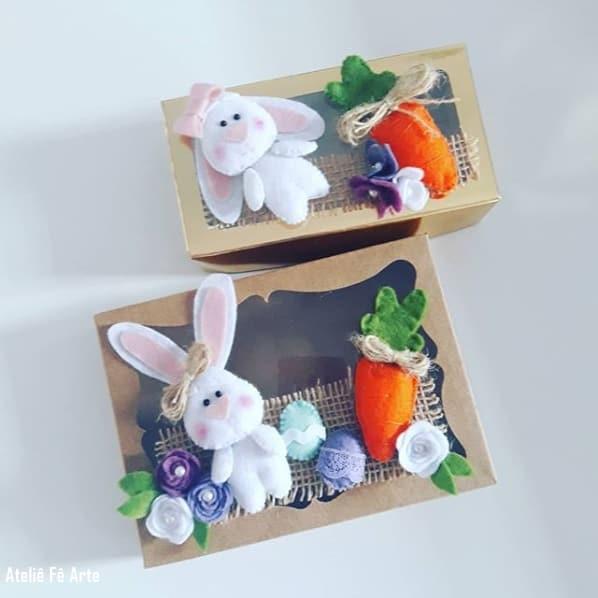 caixinhas de páscoa decoradas