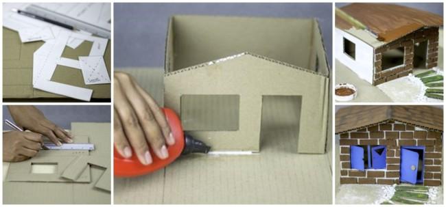 como fazer maquete de casa passo a passo
