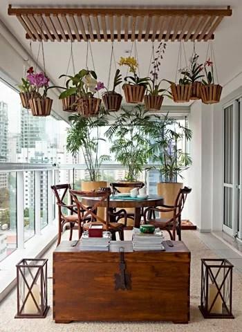 orquidário suspenso para espaços pequenos