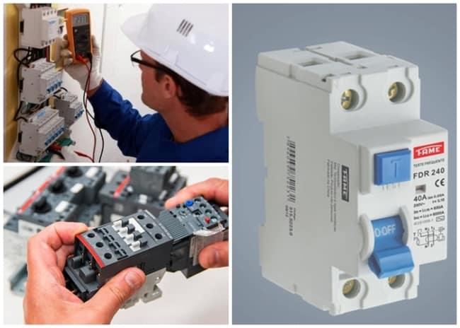 dispositivos de proteção de projeto elétrico