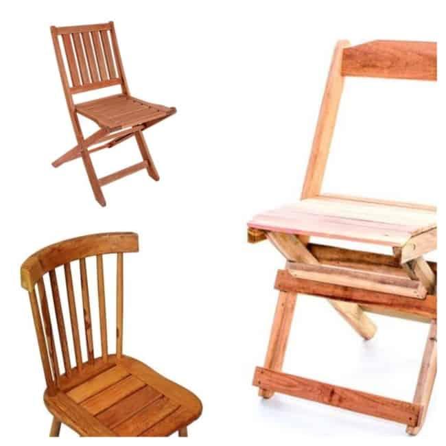 Cadeira de Madeira modelos