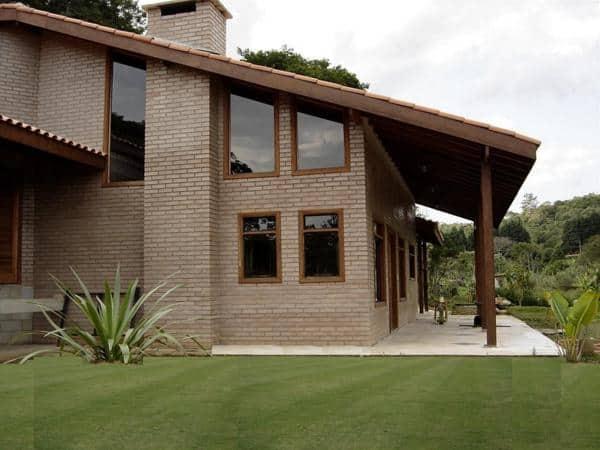 Casa Moderna de tijolos