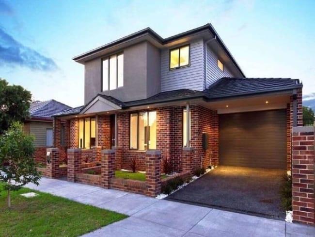 Casa de tijolos moderna
