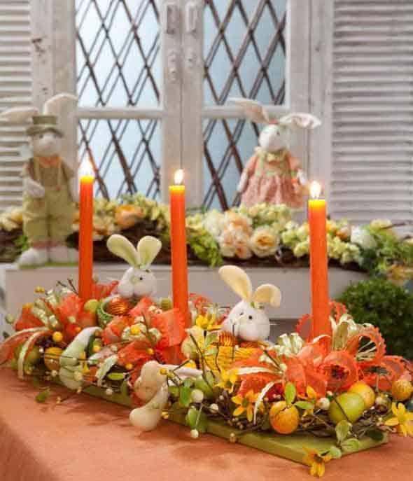 Centro de mesa para usar na Páscoa