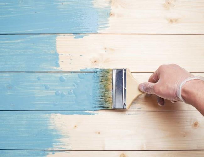 Como pintar madeira