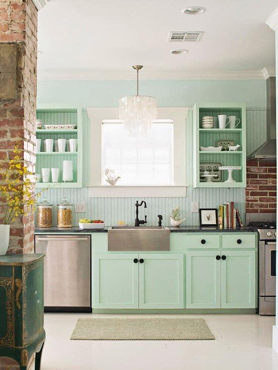 Cozinha Granito Verde Ubatuba