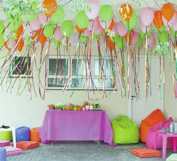 Decoração de Carnaval em casa com TNT7